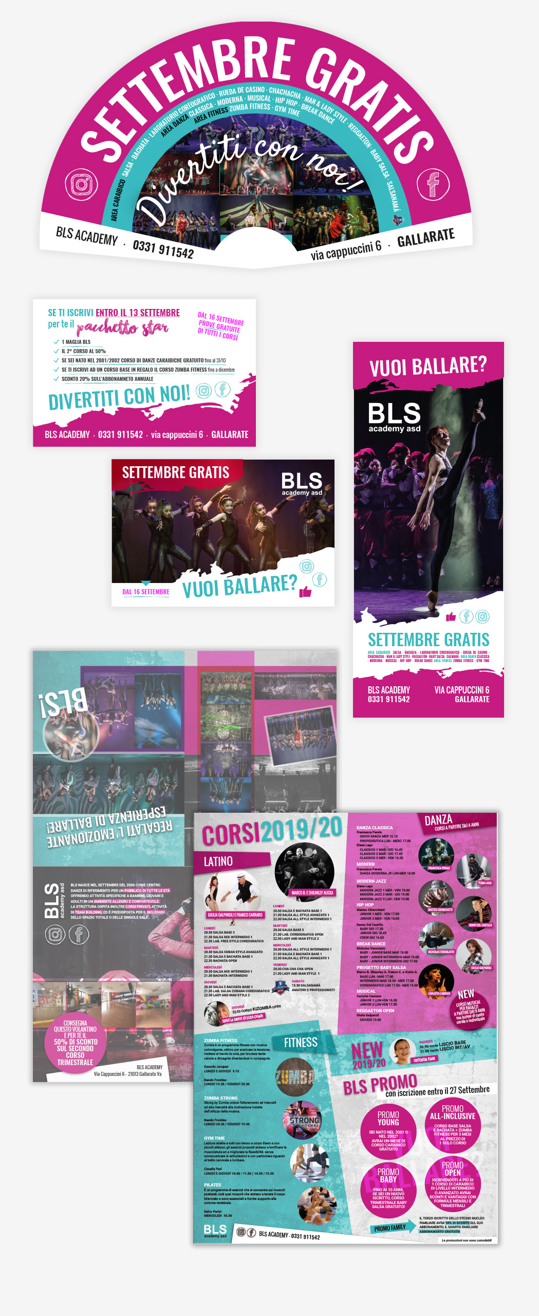 BLS academy portfolio