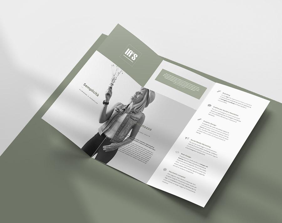 iaiastyle servizi brochure, depliant e cataloghi