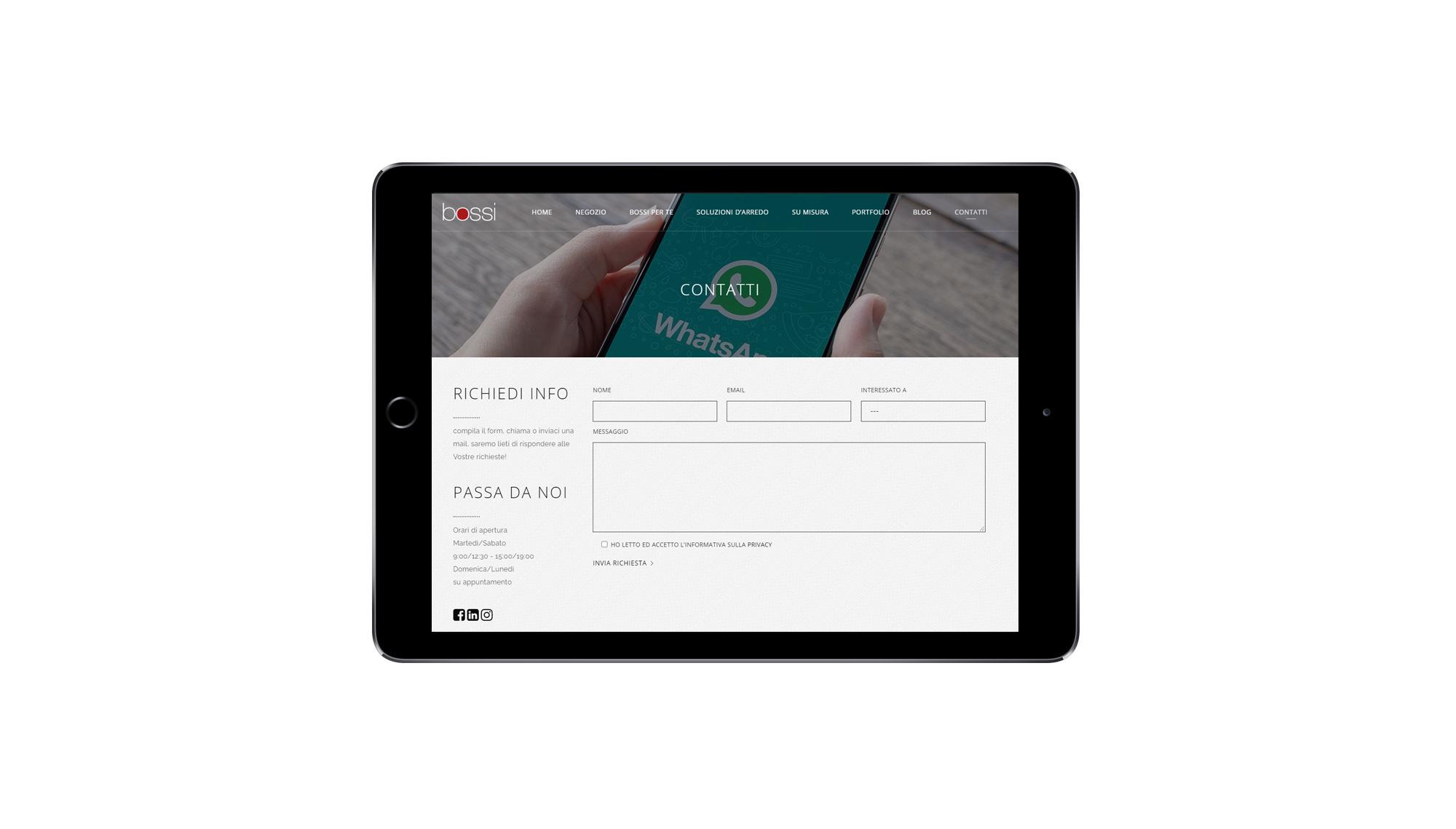 Adattamento tablet
